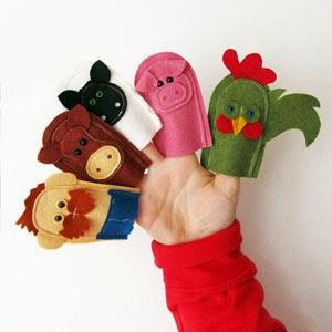 Buy Handmade | Christmas Gift Guide For Children - Finger Puppets