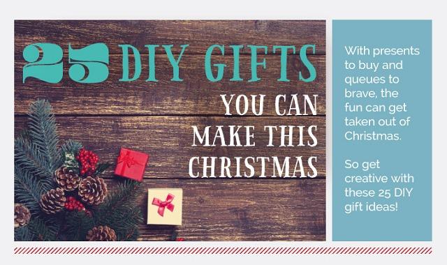 Image: 25 DIY Gifts You Can Make This Christmas
