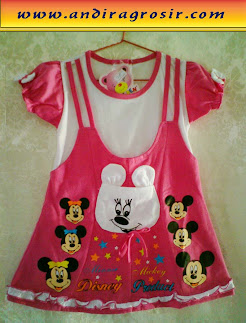Dress Golden Mickey Kantong