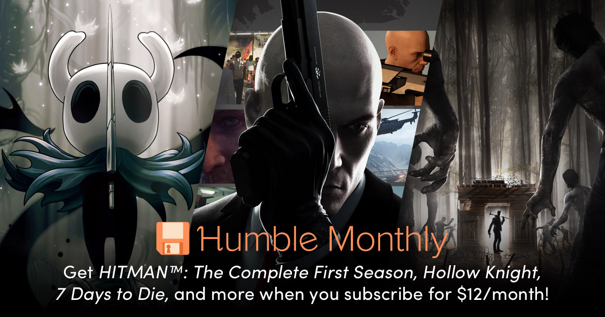 NOVEMBER 2018 HUMBLE MONTHLY