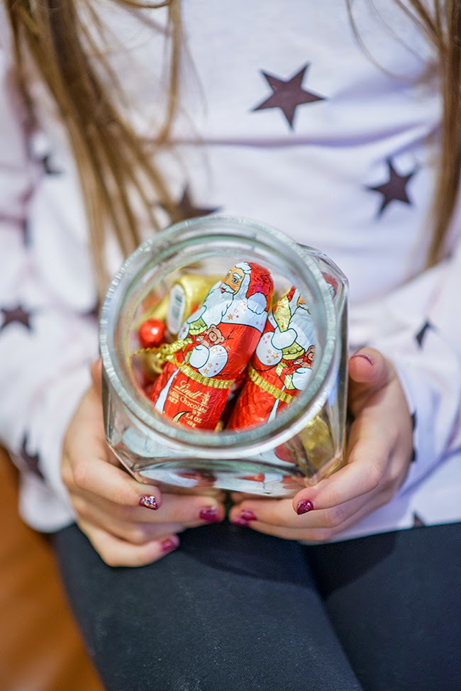 Festive Lindt Chocolate