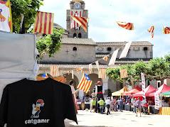 Carpa del catganer a la Fira Estelània a Santa Coloma de Farners..