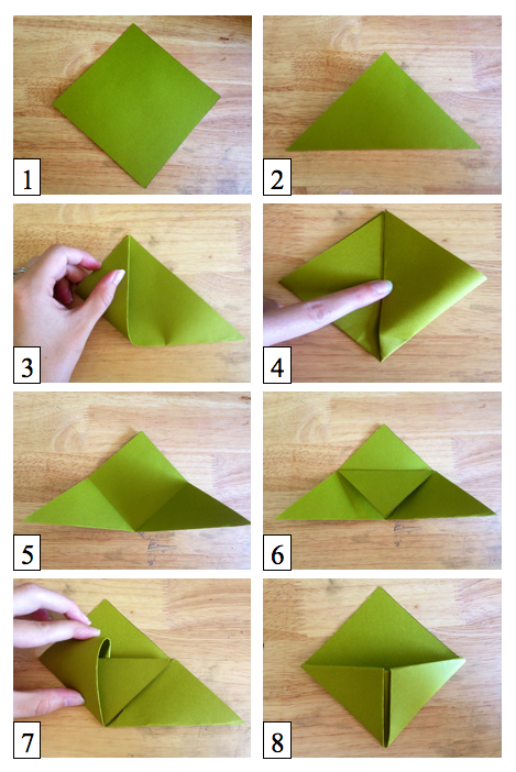 How to how hard and how much how to make origami How to make a simple bookmark