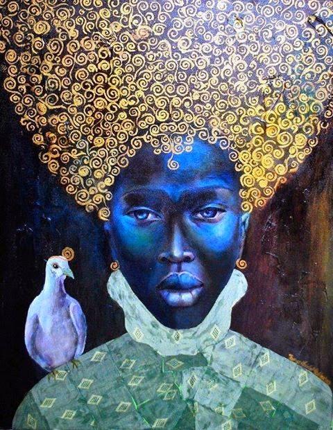Painting by Tamara Natalie Madden