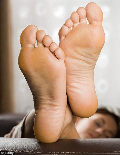 White feet girls