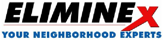Eliminex Pest Control NJ 732-640-5488 - Termite, Bee, Ant, Squirrel, Bed Bug, Mice Exterminating