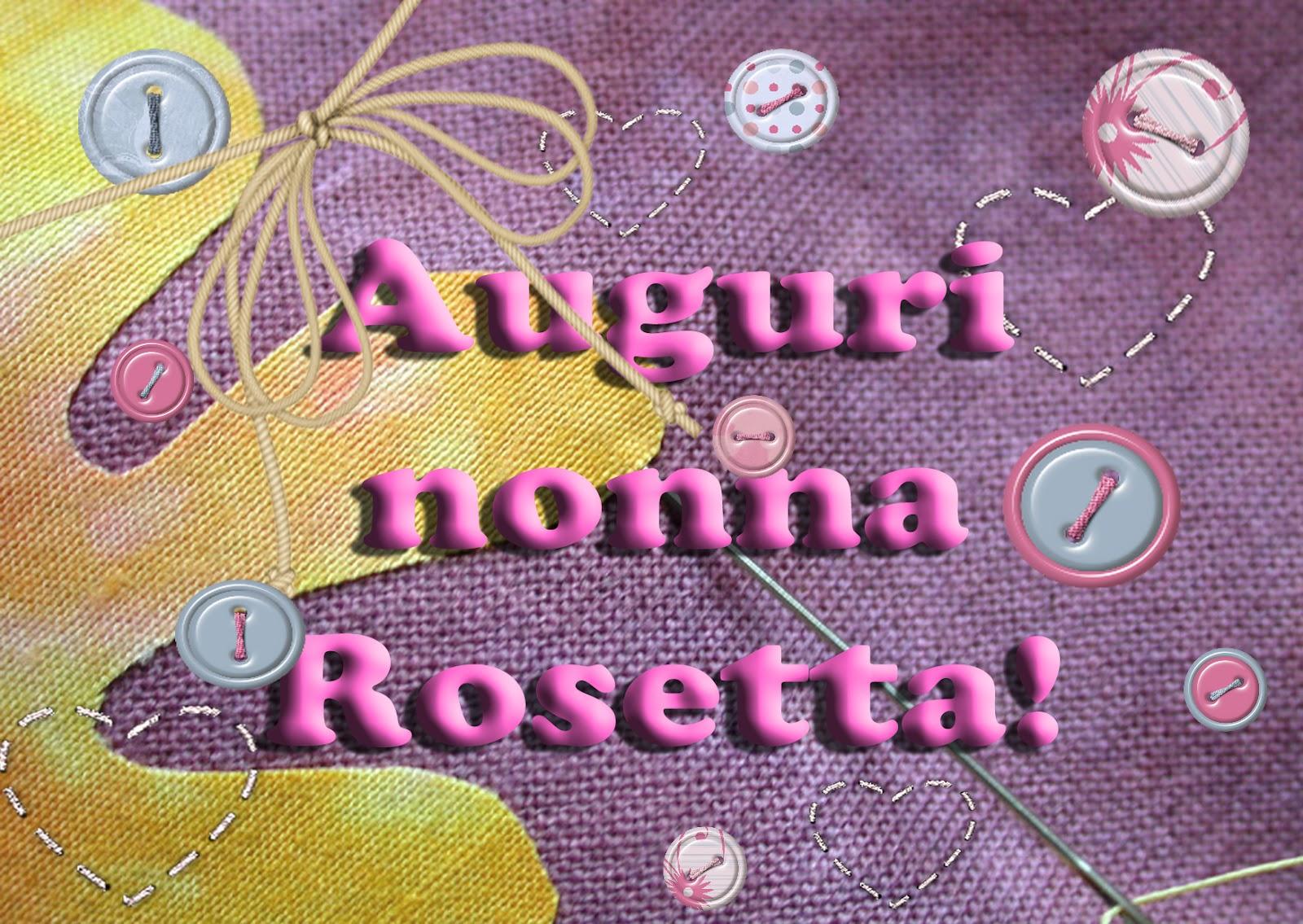 Auguri Matrimonio Nonna : Paperfarm festa dei nonni auguri nonna rosetta