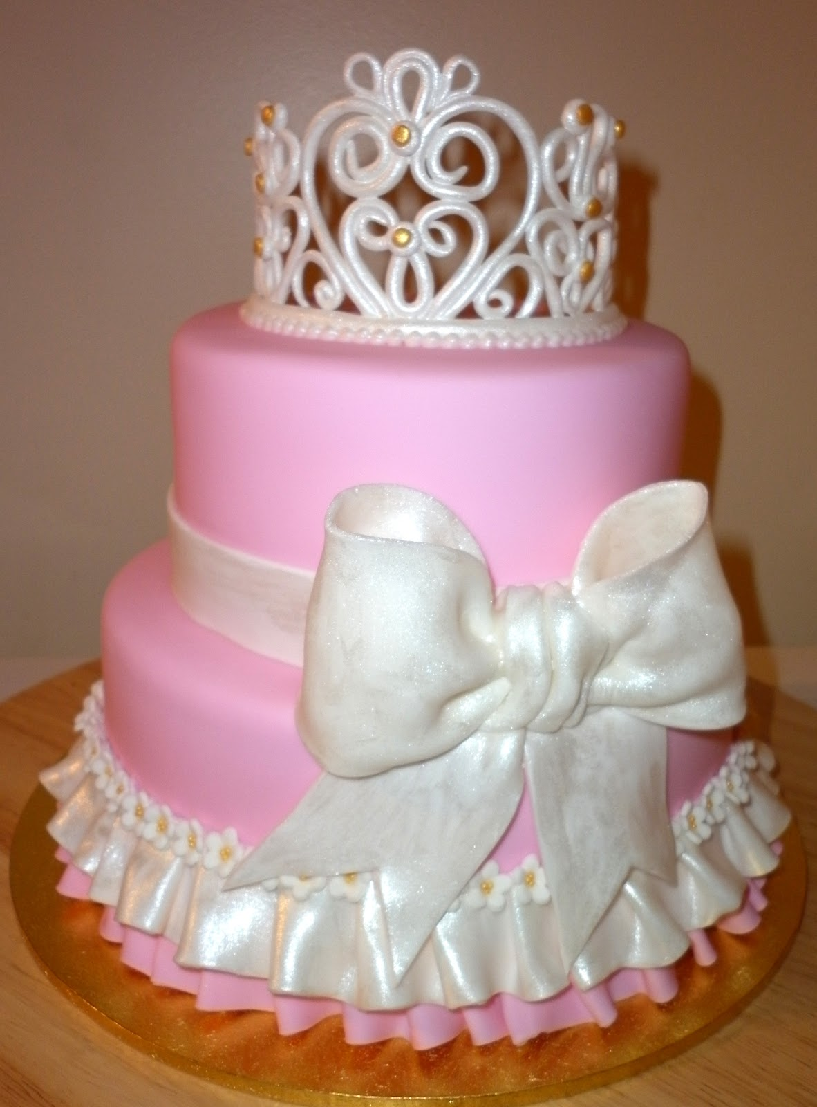 Caketopia: Pink Princess Cake for Sherron