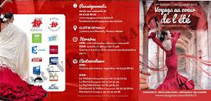 SAVE THE DATE ! FESTIVAL VOYAGE AU COEUR DE L'ETE D'AMIENS ! DU 7 AU 27 JUILLET 2015