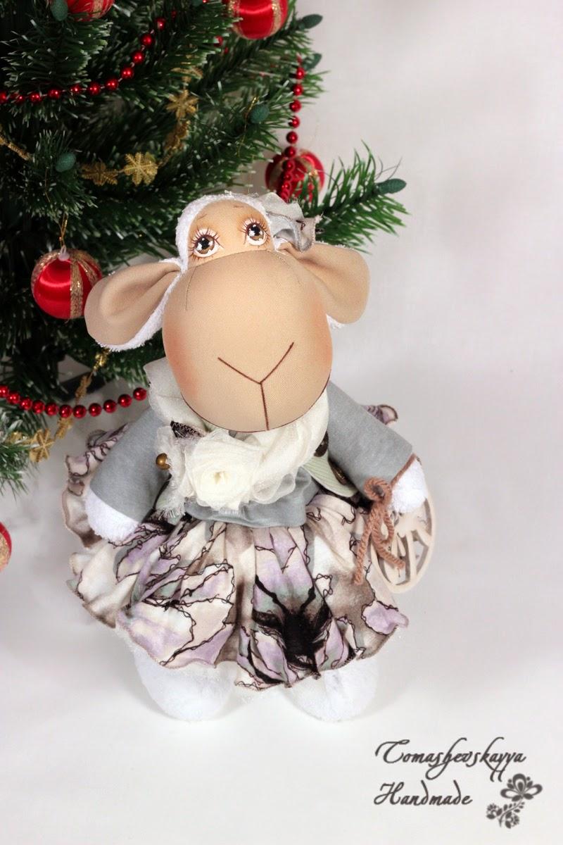 Картинка красивая овечка мультяшная