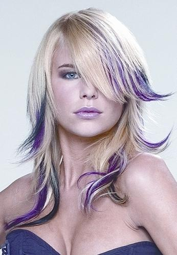 Long Hairstyles With Many Colors