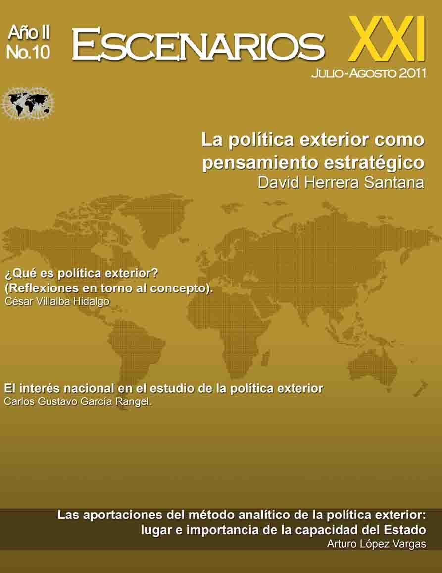 Visi n internacional estudio y praxis de la pol tica exterior for Estudios de politica exterior