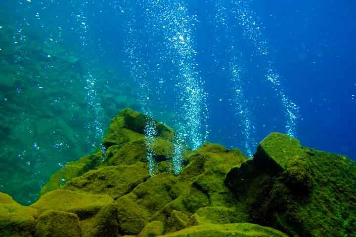 Tourims Place: Underwater Volcano Mahangentang