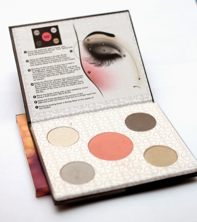studio gear smoky eye holiday palette