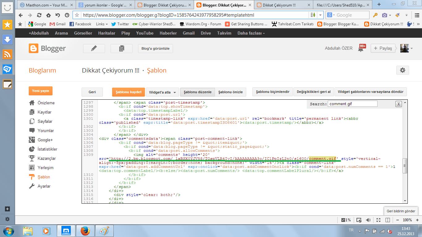 linki html editöründe bulma
