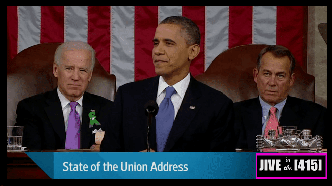 President Obama delivers his State of the Union address 2/13/2013