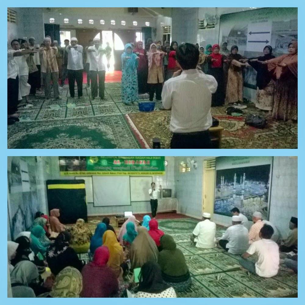 Informasi kesehatan dari susu haji sehat untuk jamaah haji KBIH Al-Hidayah Bekasi Jawa Barat