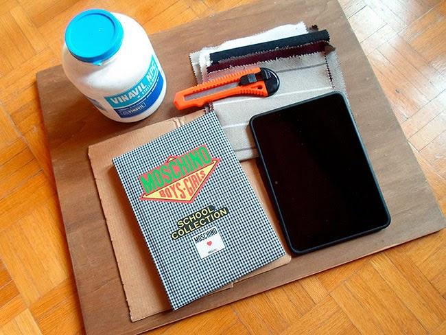 Materiales para fabricar tu funda para iPad