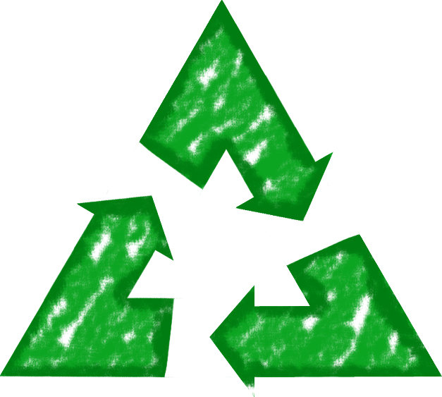 recycle symbol with transparent background png recycle