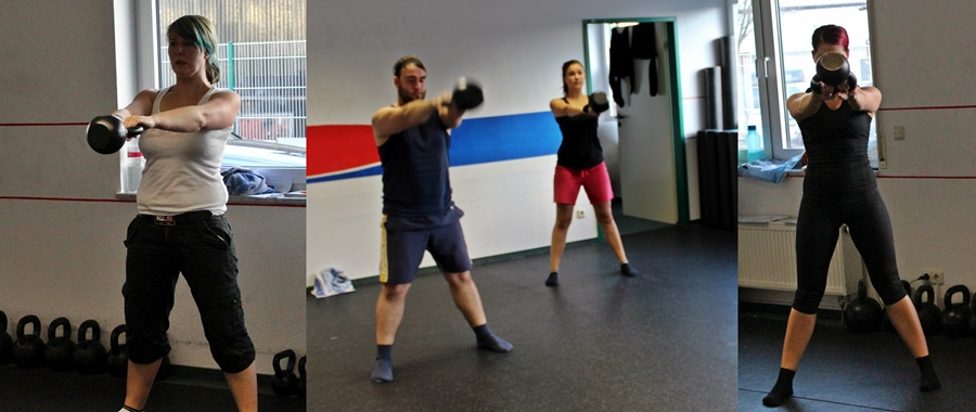 swings bei enter the kettlebell seminar