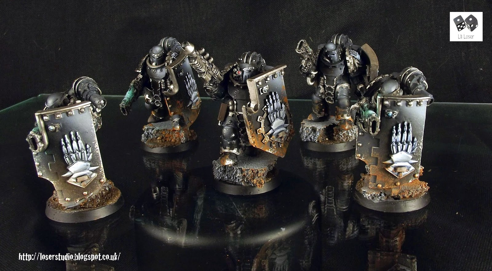 Forge World Iron Hands Paint Scheme
