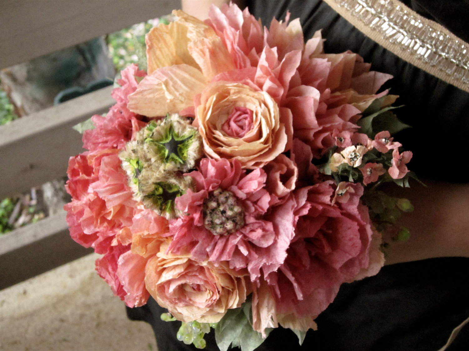 Wedding Paper Bouquet Of Flowers : Lq designs etsy featured item