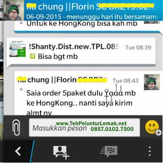 Teh New TPL agen hongkong malaysia singapura brunei