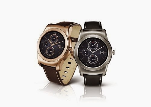 LG G Watch 2 di acara MWC 2015, dibekali body full logam dan anti air (IP67)