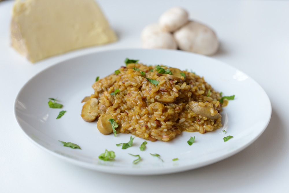 Platos fabulosos risotto integral - Risotto arroz integral ...