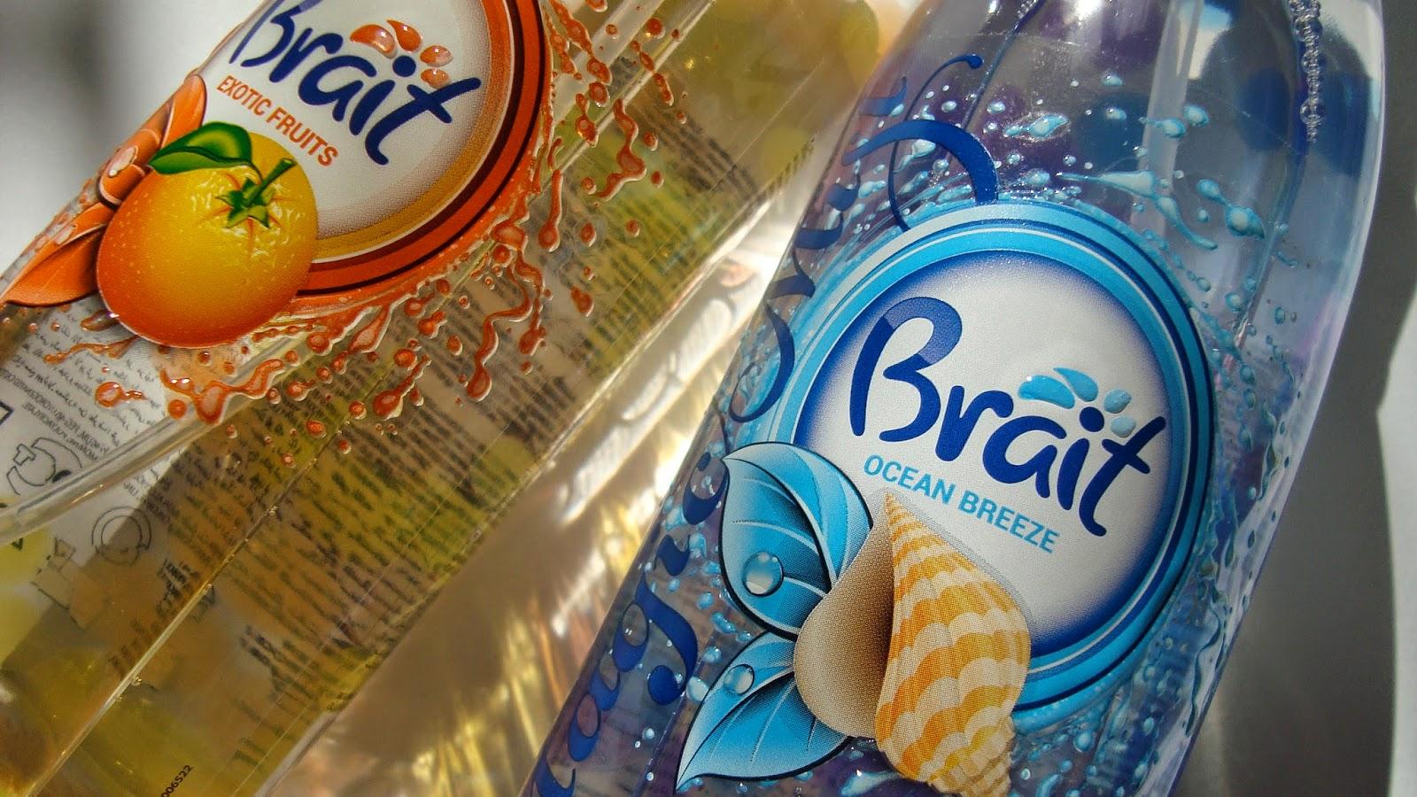 Odświeżacze od Brait. Zapach owocowy i morski.