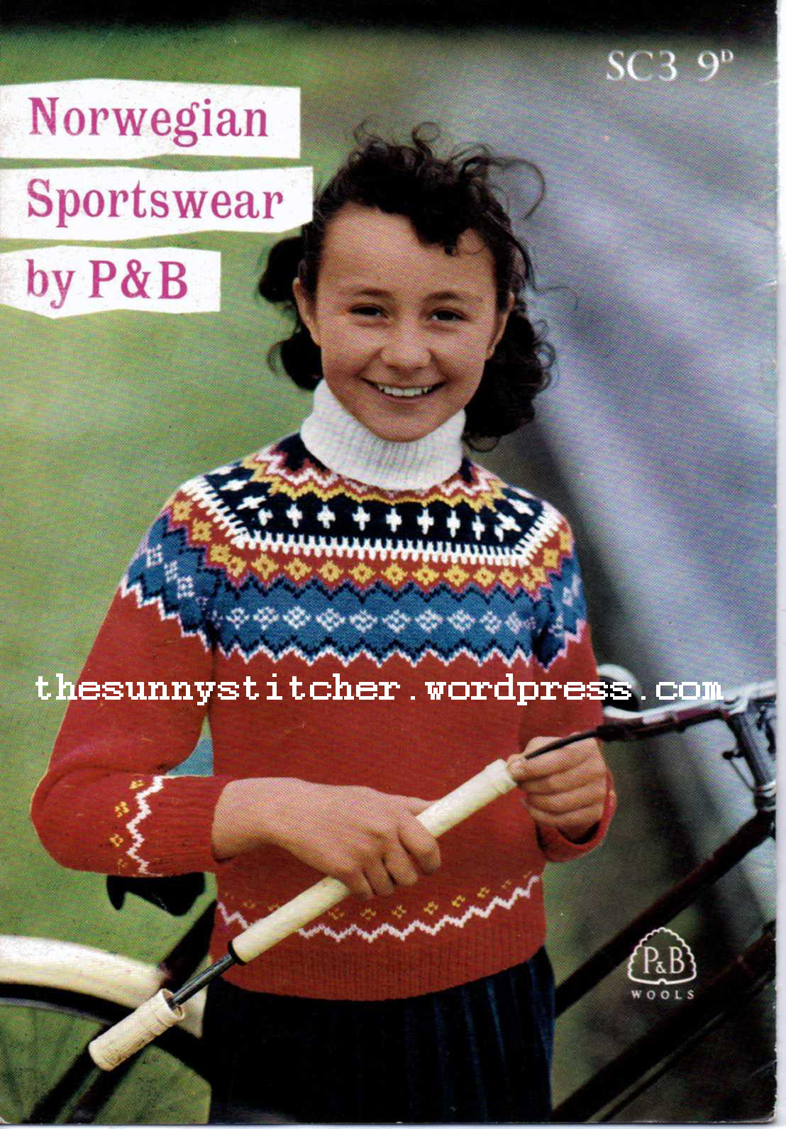 1950's Knitting - Norwegian Sportswear Patterns free pattern
