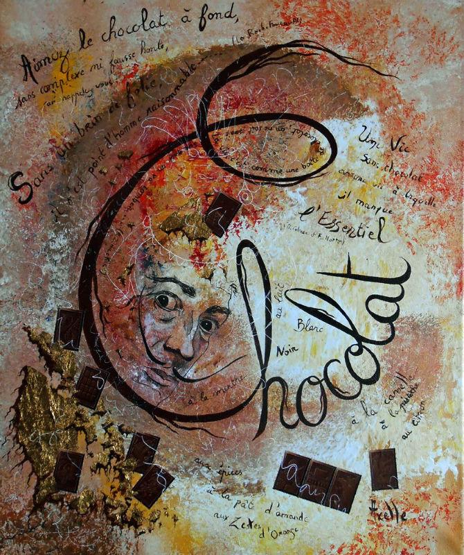 Chocolat par Axelle Bosler