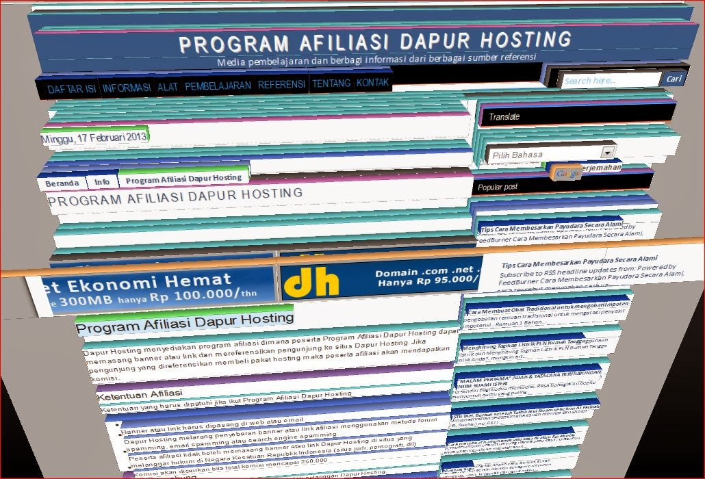 Program Afiliasi Dapur Hosting