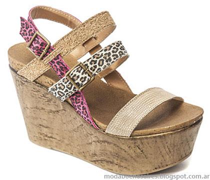 Traza verano 2015 sandalias de moda.