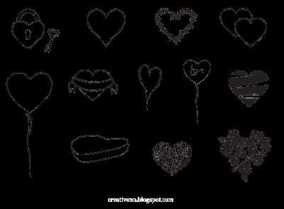 Рисунки сердце.