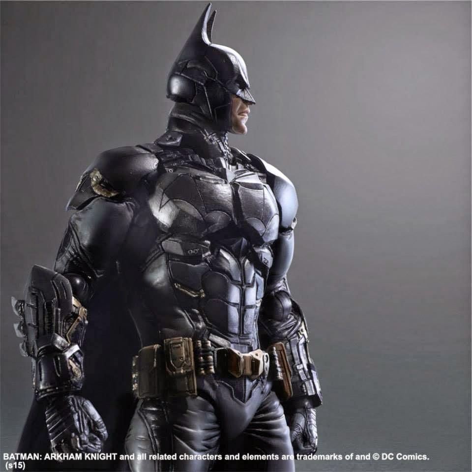 Play Arts Kai Batman From Arkham Knight Series