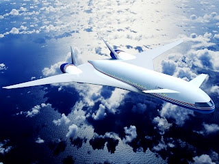 Boeing Future Plane 3D Model HD Wallpaper