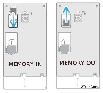 Insert Remove microSD Memory Cart Install Slot of Sony Xperia sola MT27