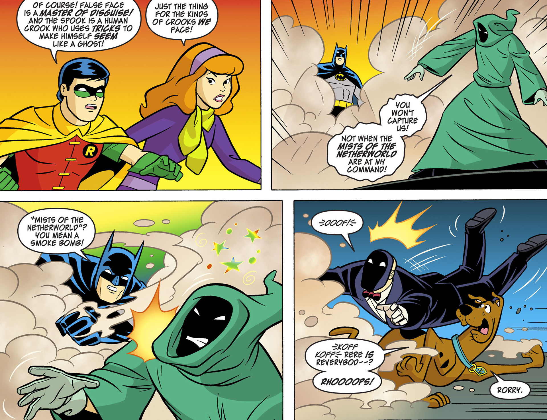 Read online Scooby-Doo! Team-Up comic -  Issue #5 - 4