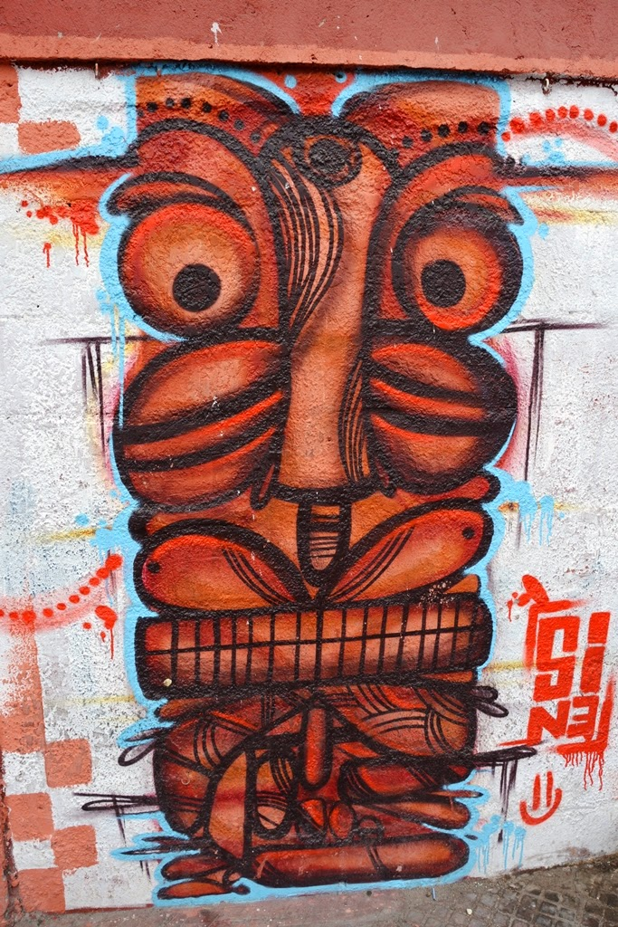 La Serena graffiti