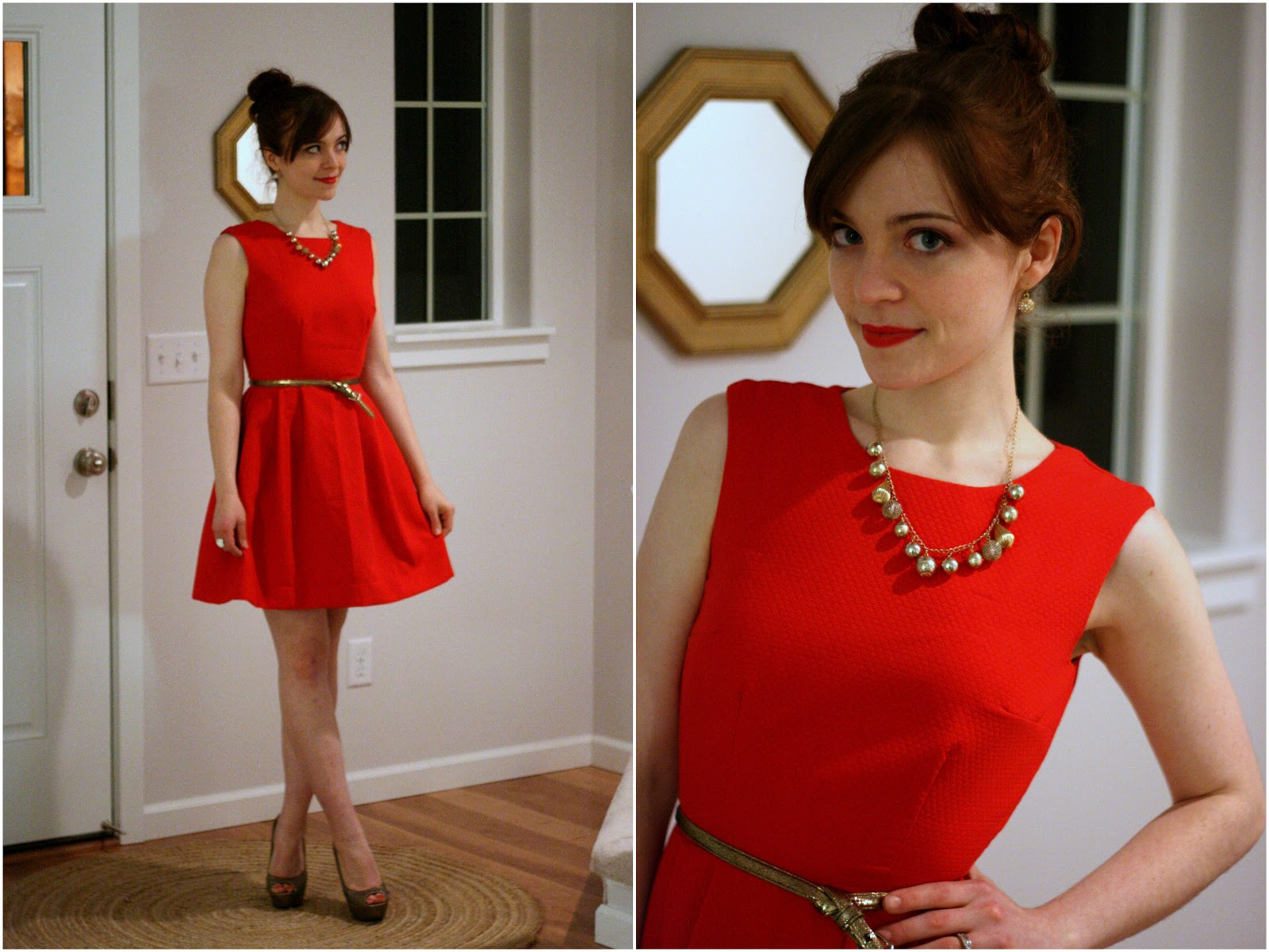 The Christmas party dress, and How to Wear DIY / Create / Enjoy