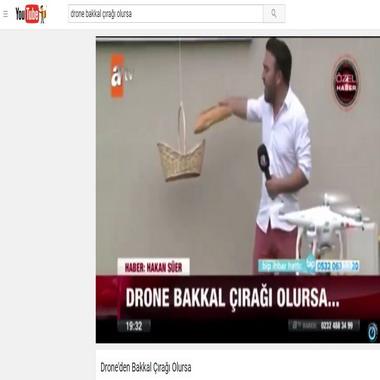 youtube com - drone bakkal çırağı olursa