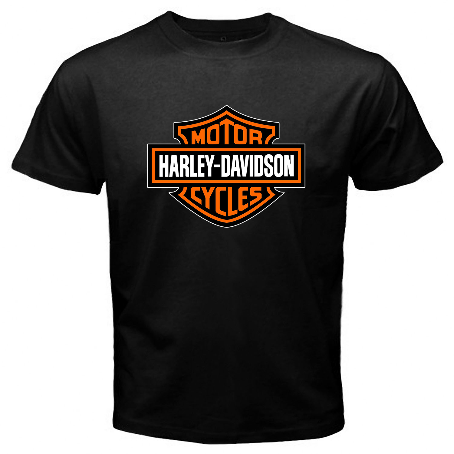Harley Davidson Black T-shirt One Side