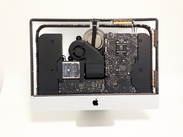New Apple iMac tear off,Inside iMac,Latest iMac 21.5 inch
