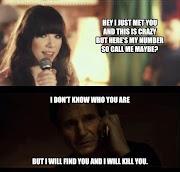 Call Me Maybe Vs Liam Neeson Phone Call