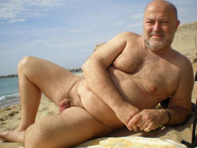 naked hairy old men