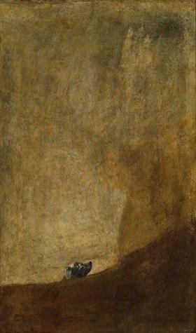 Francisco de Goya. El perro