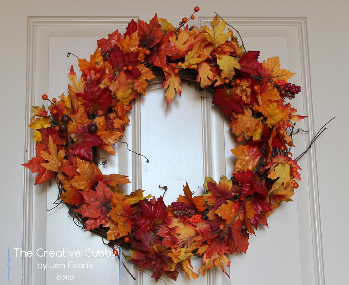 the creative cubby pinspiration friday fall wreaths