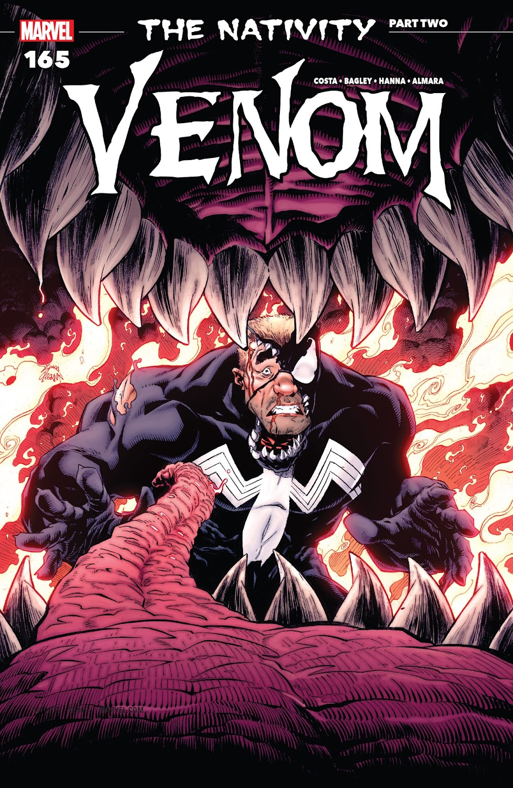 Read online Venom (2016) comic -  Issue #165 - 1