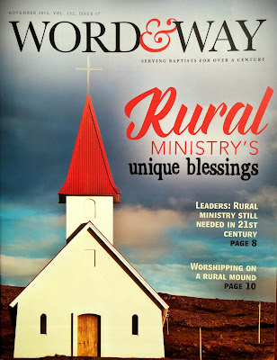 Rural Ministry's Unique Blessings